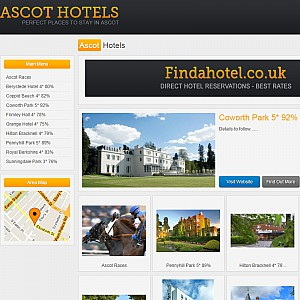Website of Ascot Hotels