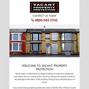 Protect Vacant Property Provides