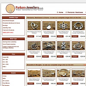 Wide Range of Sterling Silver and Silver