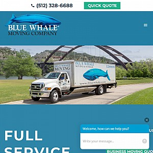 Blue Whale Moving